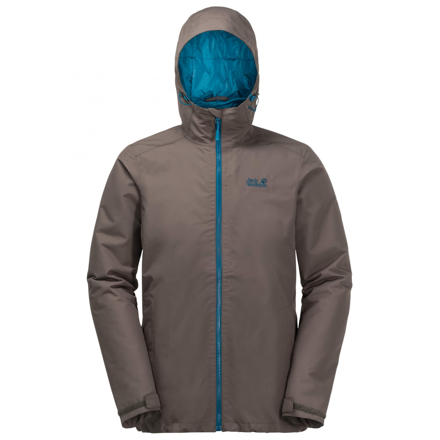 jack wolfskin men's chilly morning texapore winter jacket