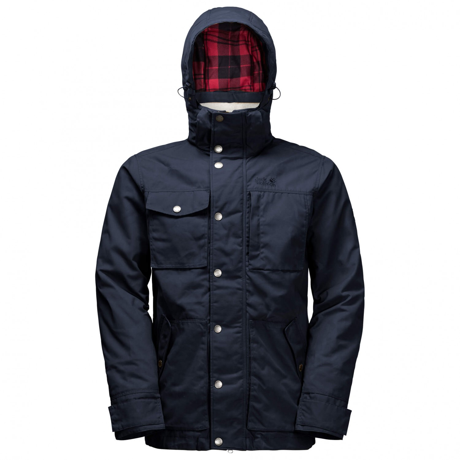 jack wolfskin fort nelson jacket winter jacket men 39 s. Black Bedroom Furniture Sets. Home Design Ideas