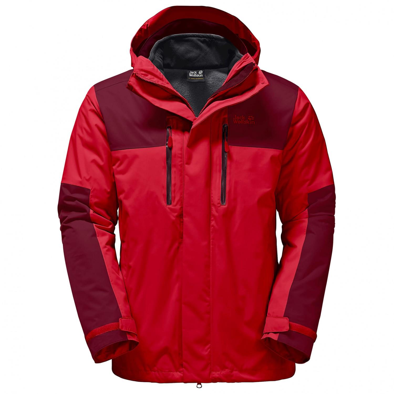 jack wolfskin jasper 3in1 3 in 1 jacket men 39 s buy. Black Bedroom Furniture Sets. Home Design Ideas