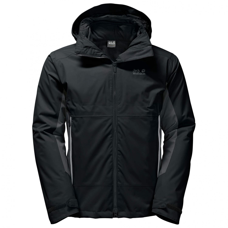 jack wolfskin north border 3 in 1 jacket men 39 s free uk. Black Bedroom Furniture Sets. Home Design Ideas