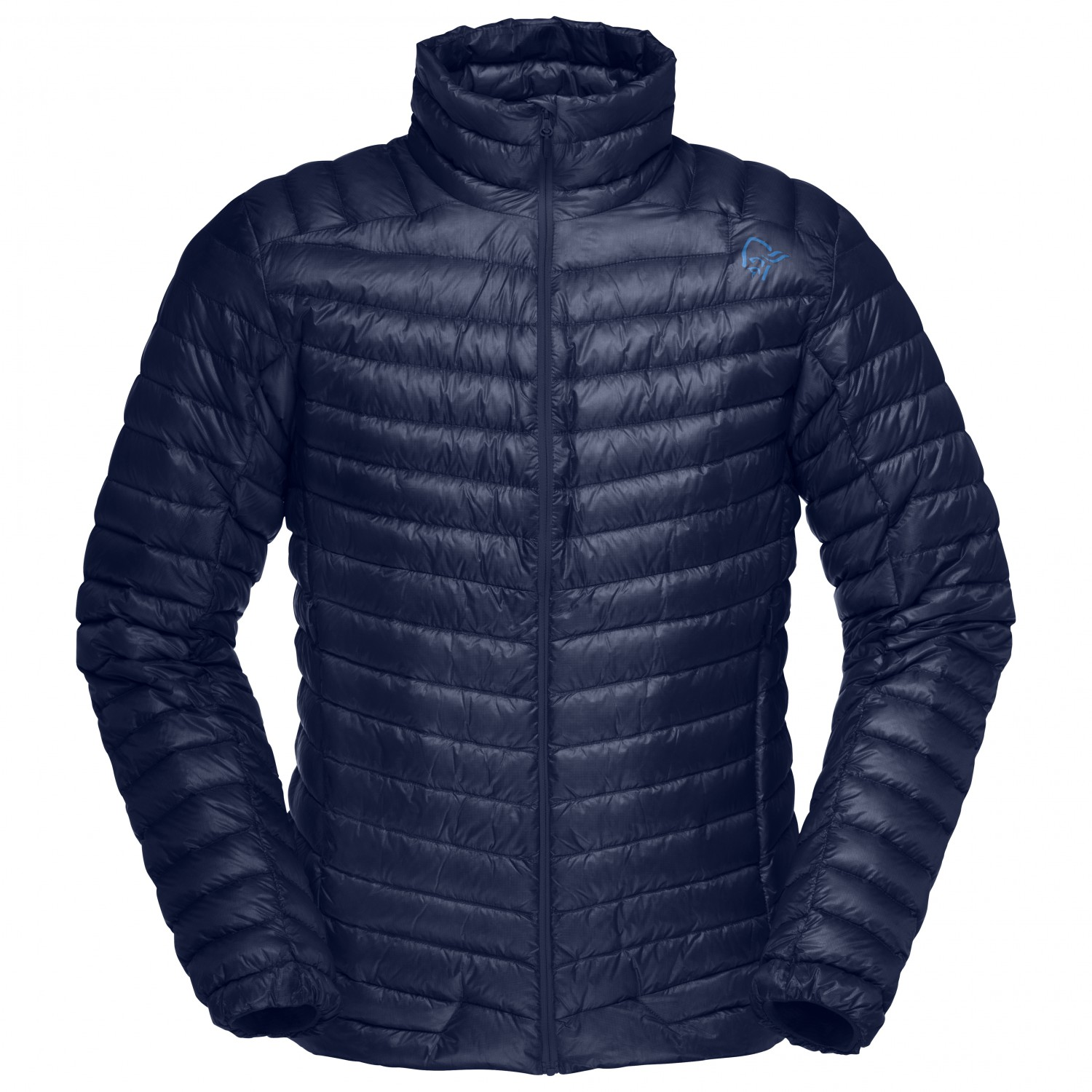 new product 6ec1f a650a Norrøna - Lofoten Super Lightweight Down Jacket - Daunenjacke - Indigo  Night | S