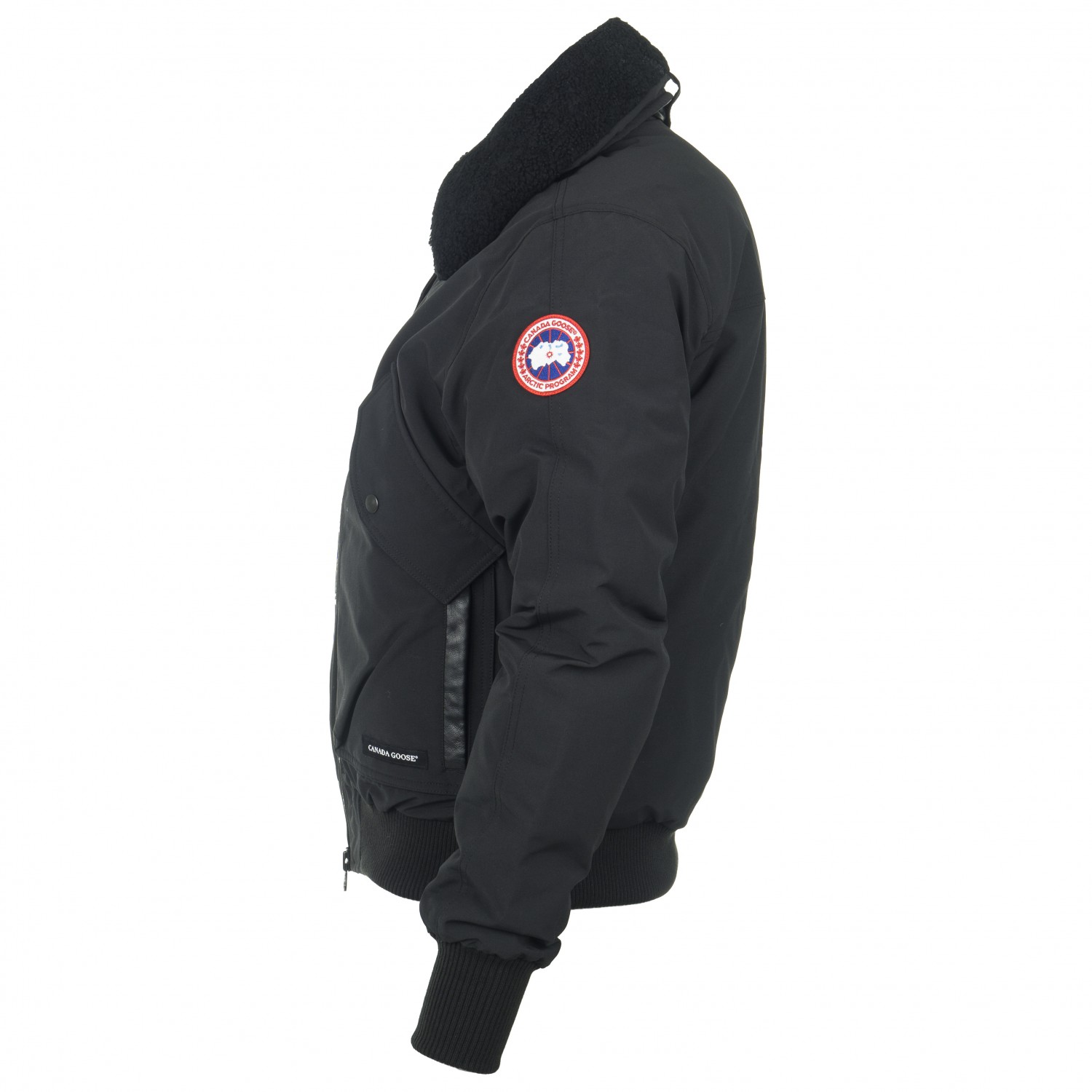 new style fa5ec 8d199 Canada Goose - Bromely Bomber - Giacca invernale - Black | XS
