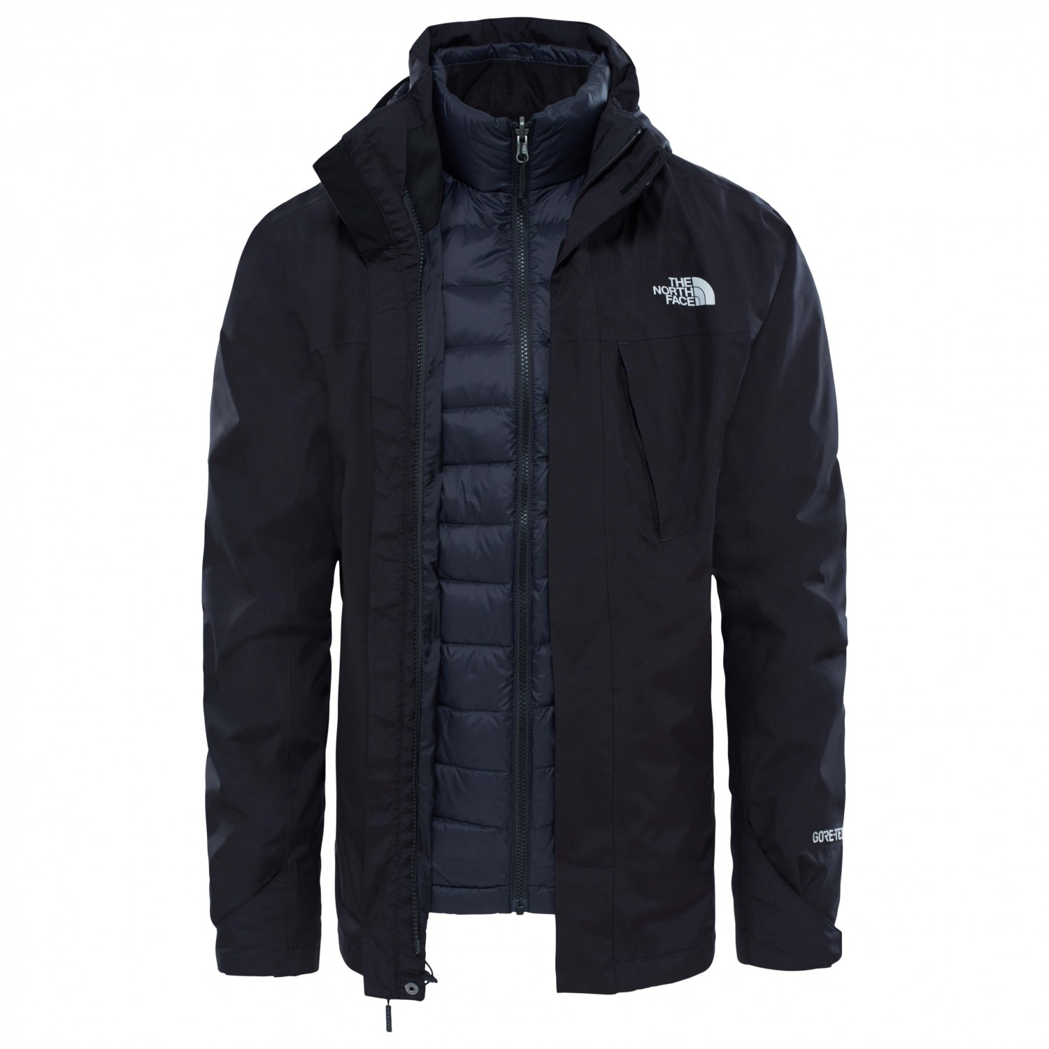 the north face mountain light triclimate jacket herren. Black Bedroom Furniture Sets. Home Design Ideas