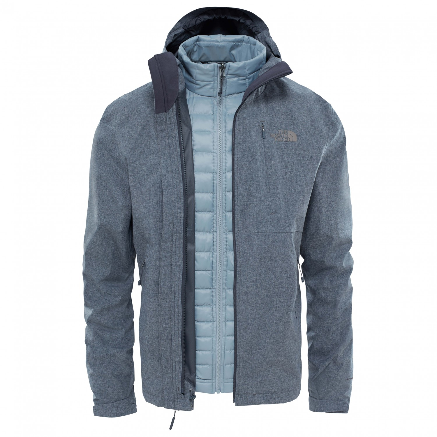 the north face thermoball triclimate jacket doppeljacke. Black Bedroom Furniture Sets. Home Design Ideas