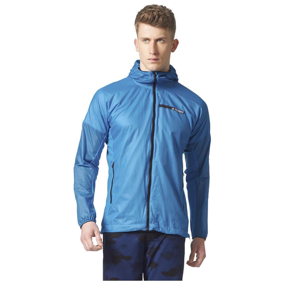 Adidas Terrex Agravic Alpha Hooded Shield - Synthetic jacket ...