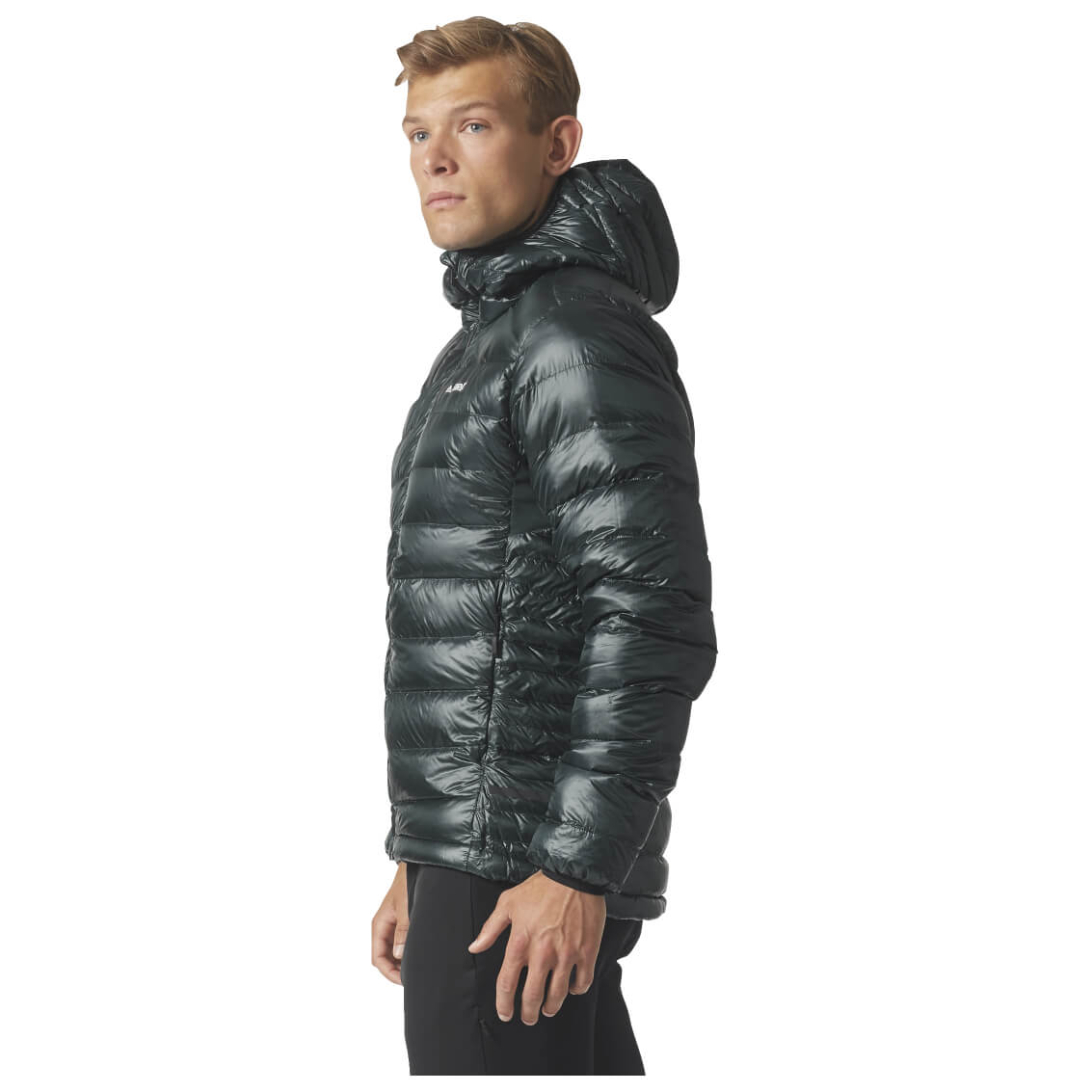 adidas Womens Terrex Climaheat Agravic Down Jacket Top Black Sports Outdoors