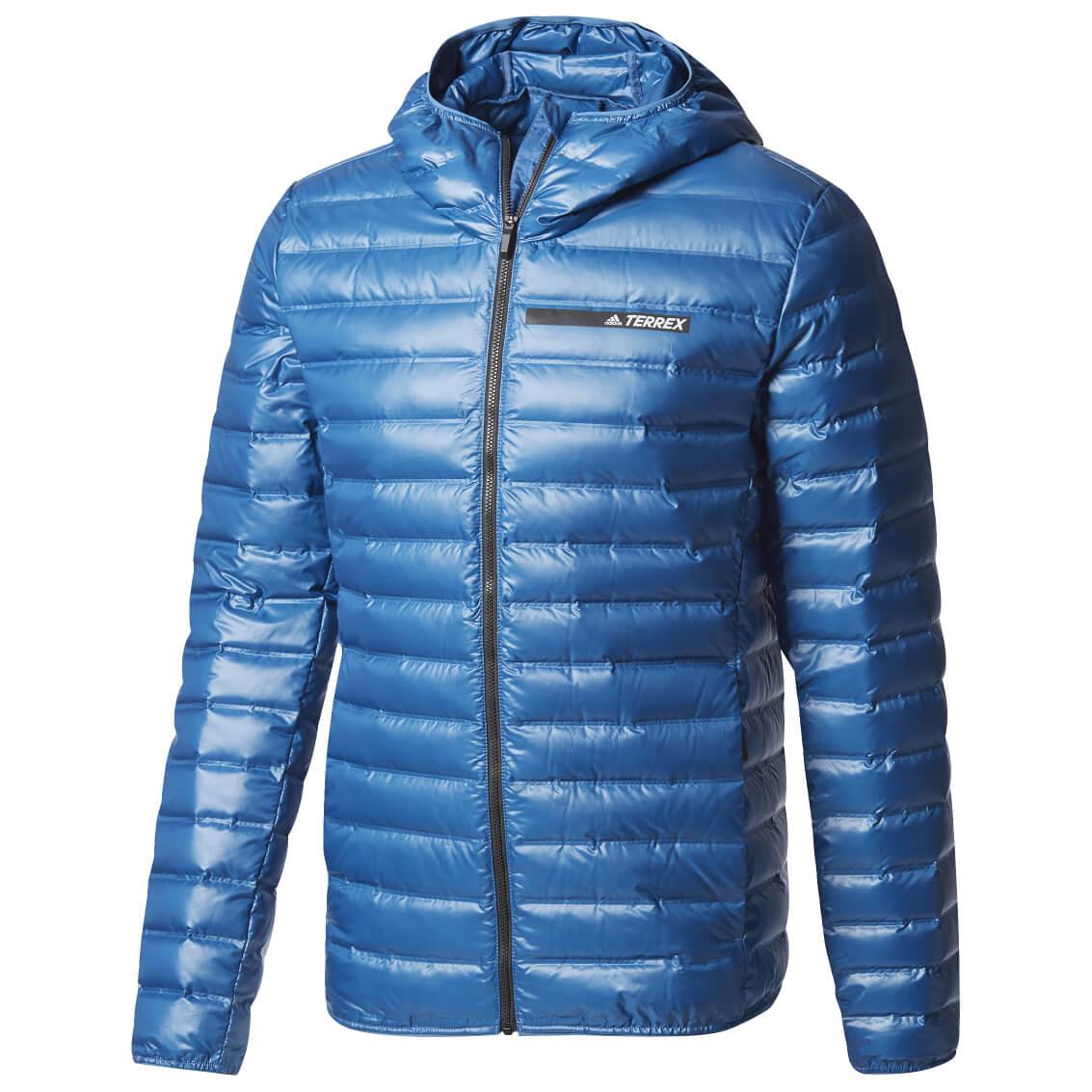Adidas Terrex Lite Down Hooded Jacket Donzen jack Heren