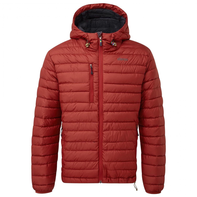 Sherpa Nangpala Hooded Jacket - Down Jacket Men's | Free ...