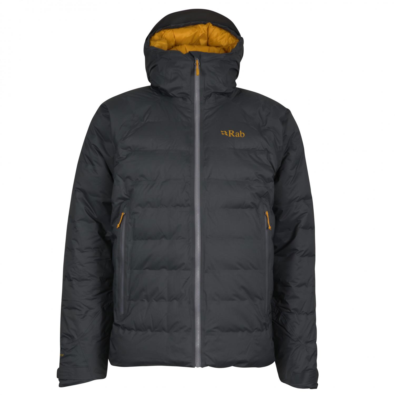buy online ab828 7c74e Rab - Valiance Jacket - Daunenjacke - Steel / Dijon   S
