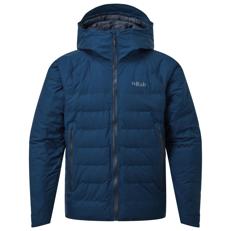 Rab Valiance Jacket Donsjack Steel Dijon | S