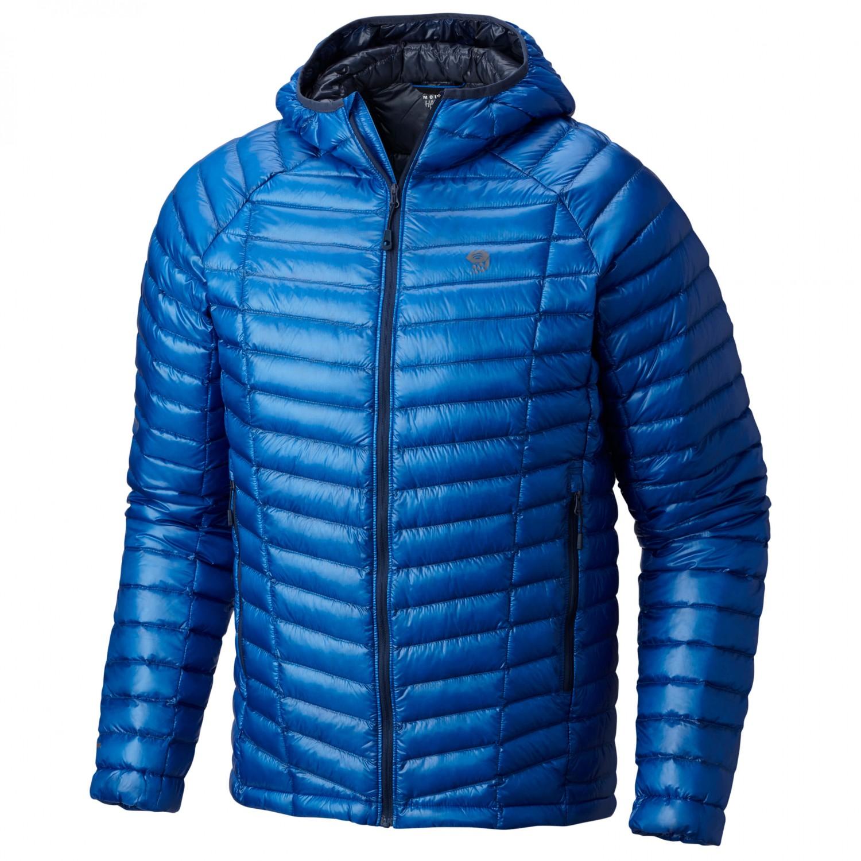 Mountain Hardwear Mens Ghost Whisperer Hooded Down Jacket