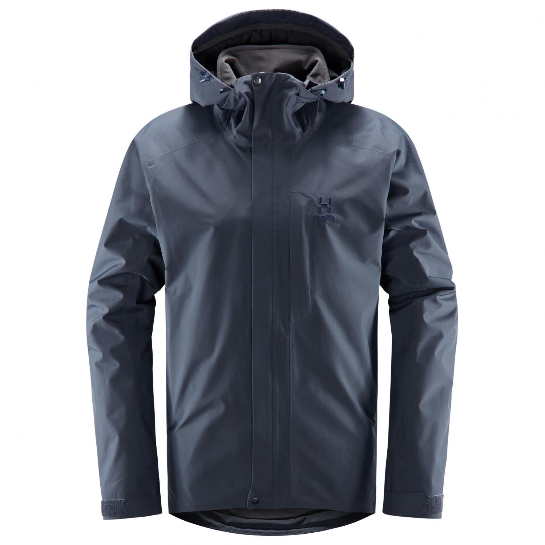 brand new c7e56 a5c4c Haglöfs - Stratus Jacket - Winterjacke - True Black | S