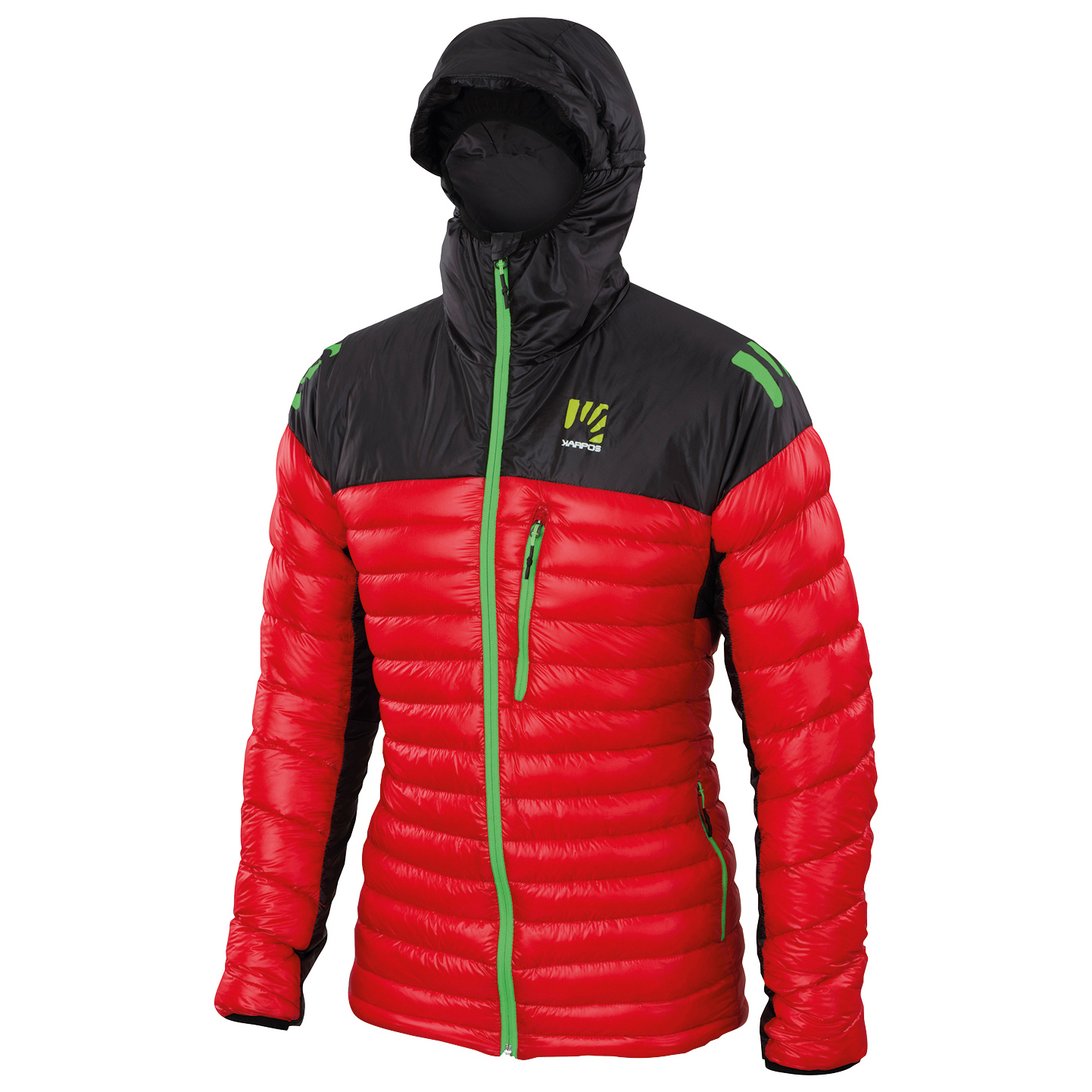 new product 1d746 9d7e4 Karpos - K-Performance Light Down Jacke - Down jacket - Flame / Black | S