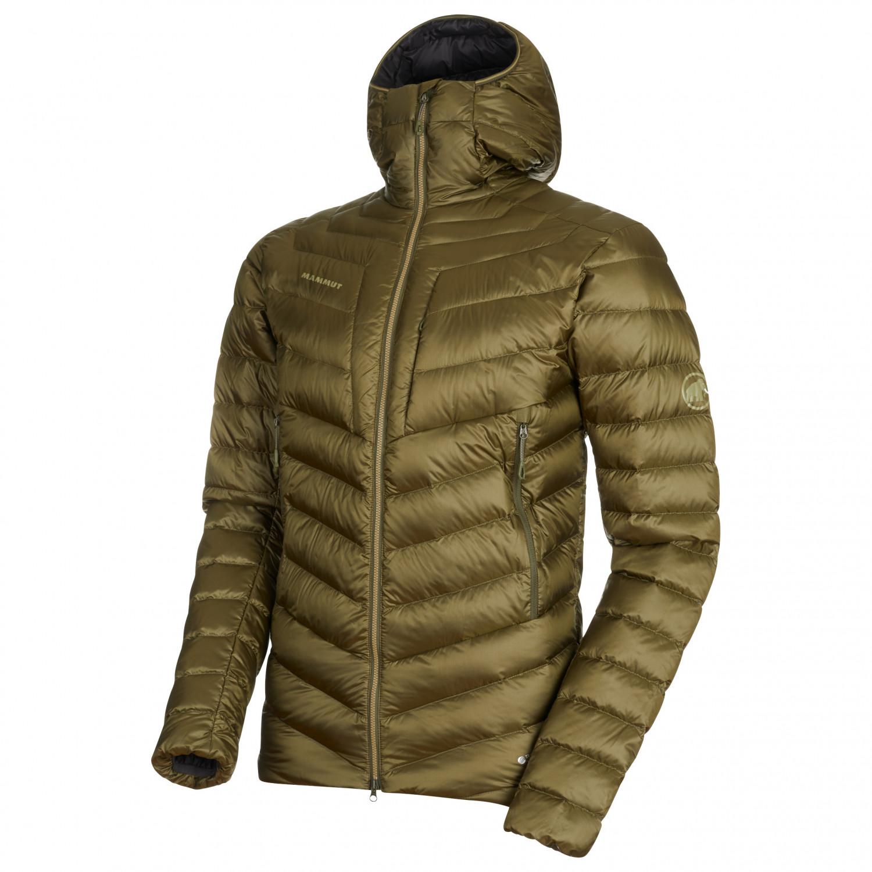 sneakers presenting low cost Mammut - Broad Peak In Hooded Jacket - Down jacket - Iguana / Phantom   S