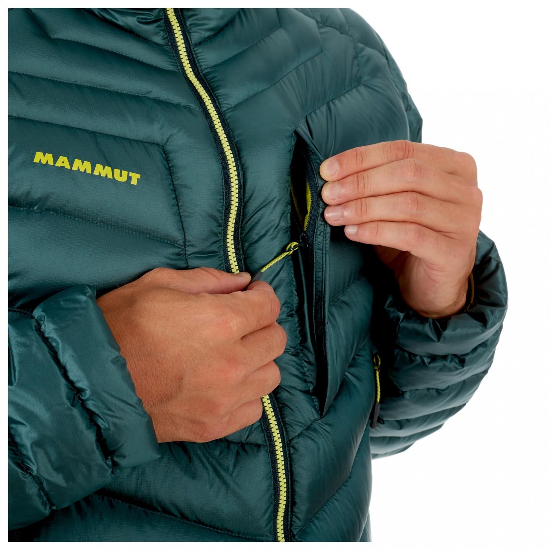 new authentic super cute sleek Mammut - Broad Peak In Hooded Jacket - Daunenjacke - Iguana / Phantom | S