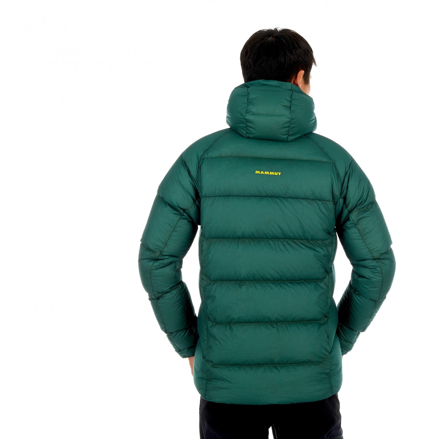 best service bbe6d 90a37 Mammut - Meron In Hooded Jacket - Giacca in piumino - Black / Black | S