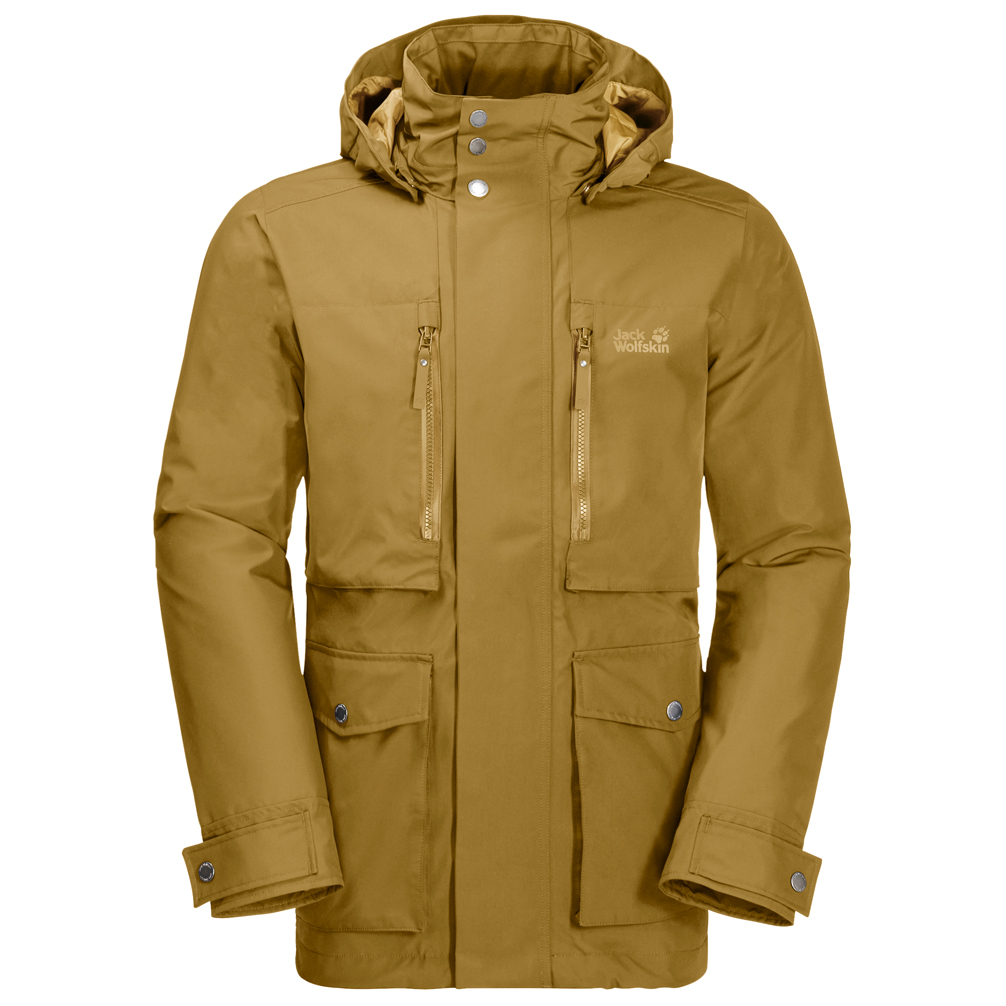 Jack Wolfskin Bridgeport Bay Jacket Winterjacke Golden Amber | S
