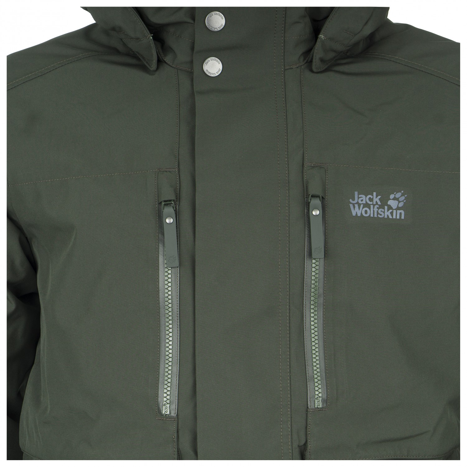 hot sale online 5a49b 86b2b Jack Wolfskin - Bridgeport Bay Jacket - Winter jacket - Night Blue | M