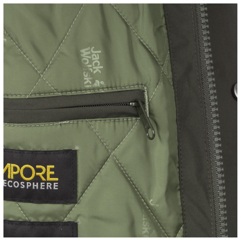 sports shoes 51ee6 9eca2 Jack Wolfskin - Bridgeport Bay Jacket - Winter jacket - Golden Amber | S