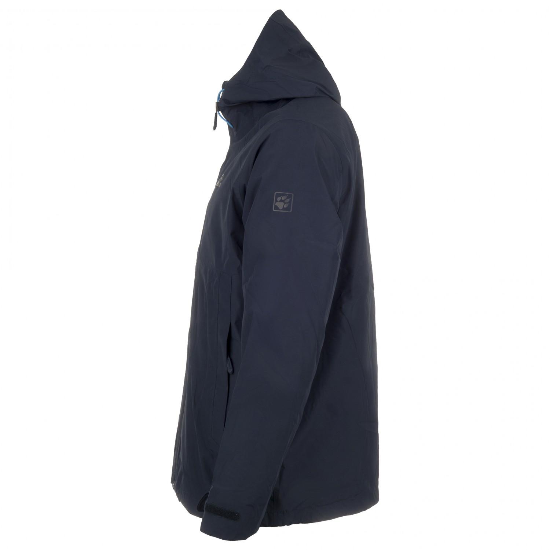 Jack Wolfskin Norrland 3in1 3 In 1 Jacket Mens Free Eu Delivery Jake Fleece Combie Blue Grey