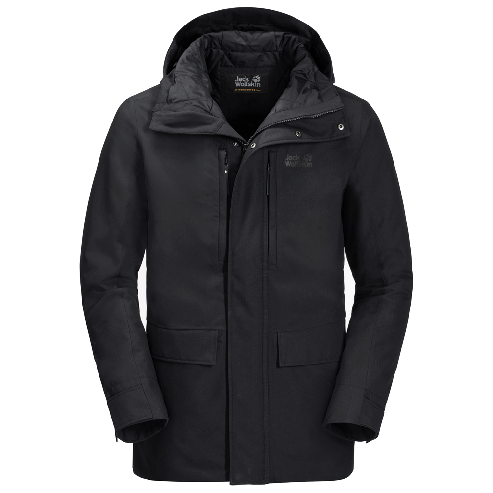 watch c9a8f 6a446 Jack Wolfskin - West Coast Jacket - Winterjacke - Black | S
