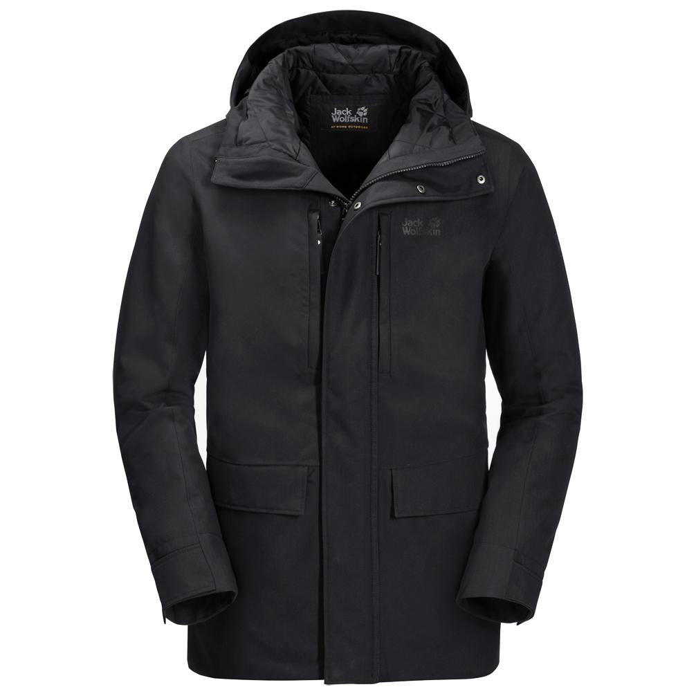uk availability ad4c0 a8e92 Jack Wolfskin - West Coast Jacket - Winterjacke - Dark Moss | L