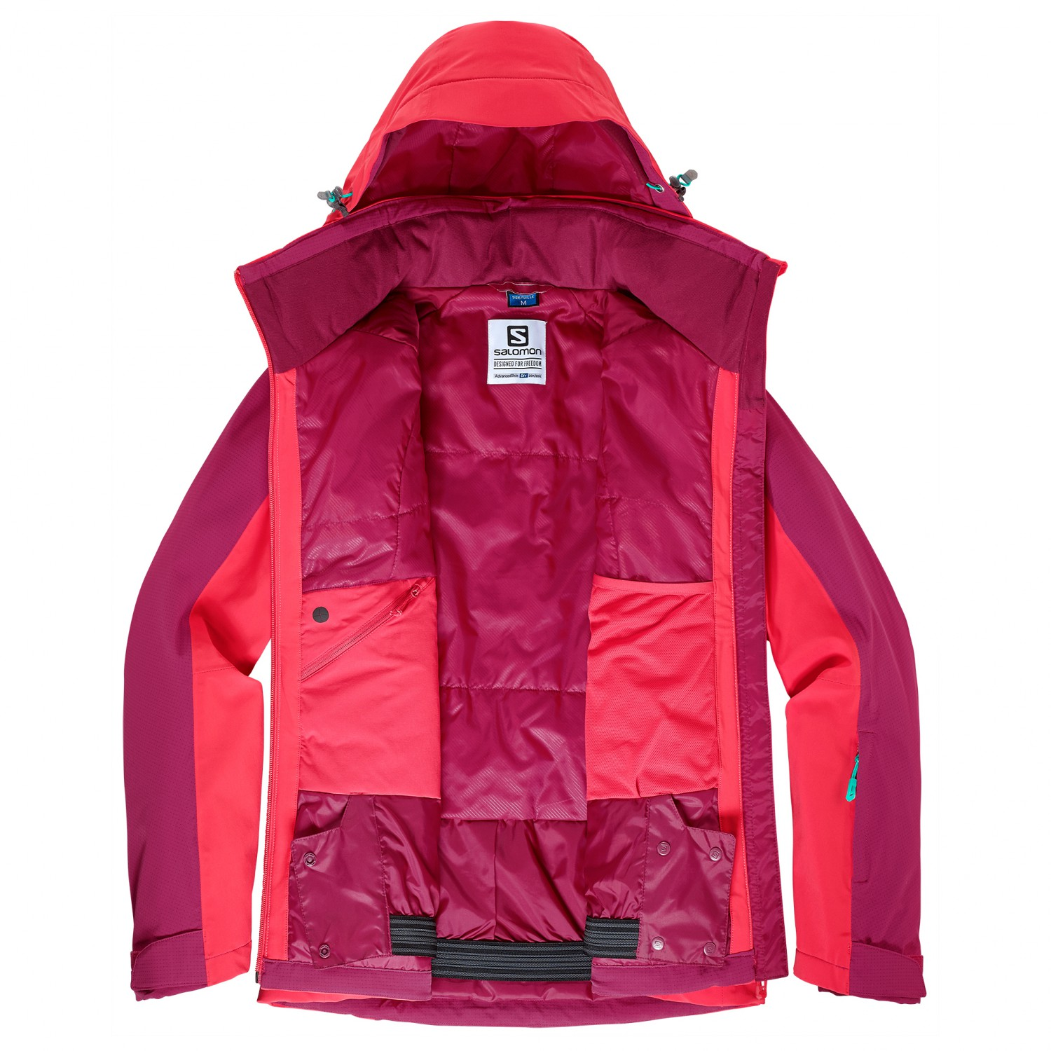 Salomon Brilliant Jacket Skijakke Dame køb online