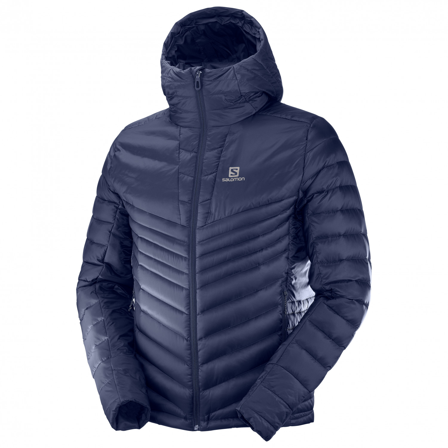 Salomon Haloes Down Hoodie Daunenjacke Night Sky | S