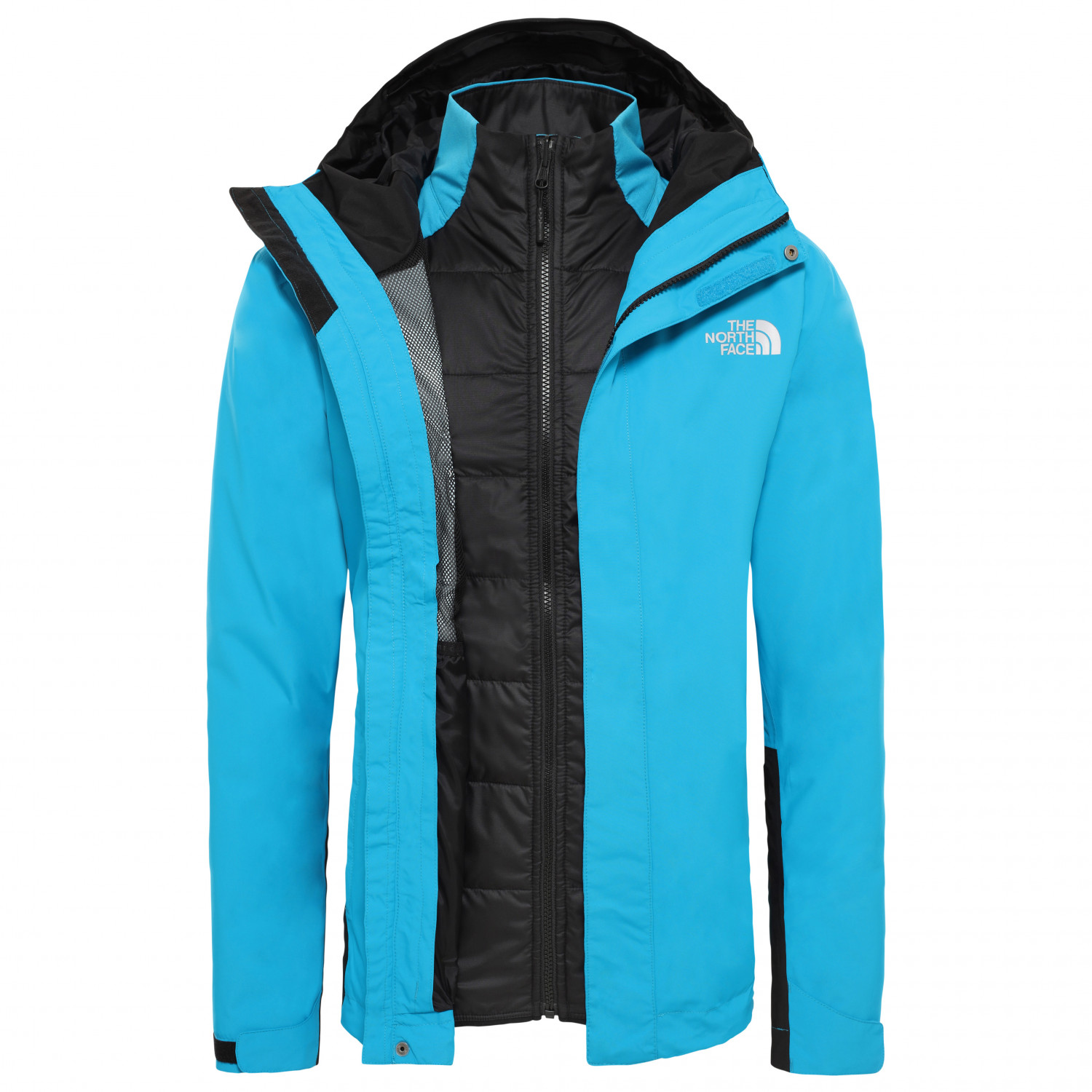 new photos bd61d 3cd17 The North Face - Merak Triclimate - Doppeljacke - Acoustic Blue / TNF Black  | S