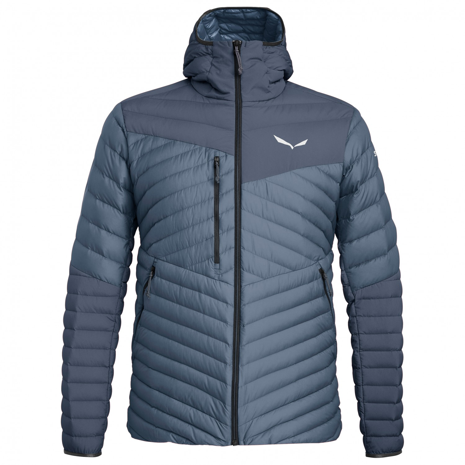 Salewa Ortles Light 2 Down Hood Jacket Down jacket Grisaille Flint Stone Black Out | S