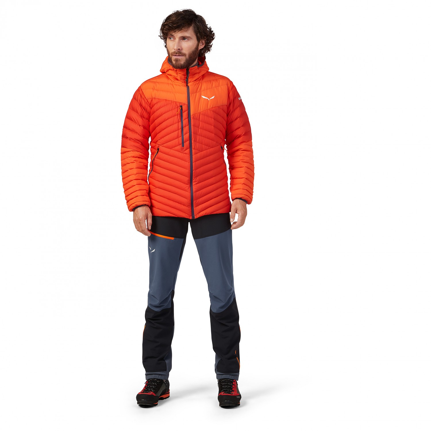 Salewa Ortles Light 2 Down Hood Jacket Daunenjacke Poseidon 8730 | 50 (EU)