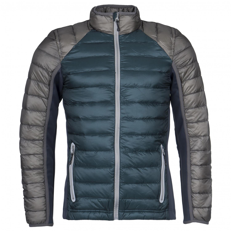 Dolomite Jacket Cinquantaquattro Sporty Down jacket Deep Teal Smog Grey | XL