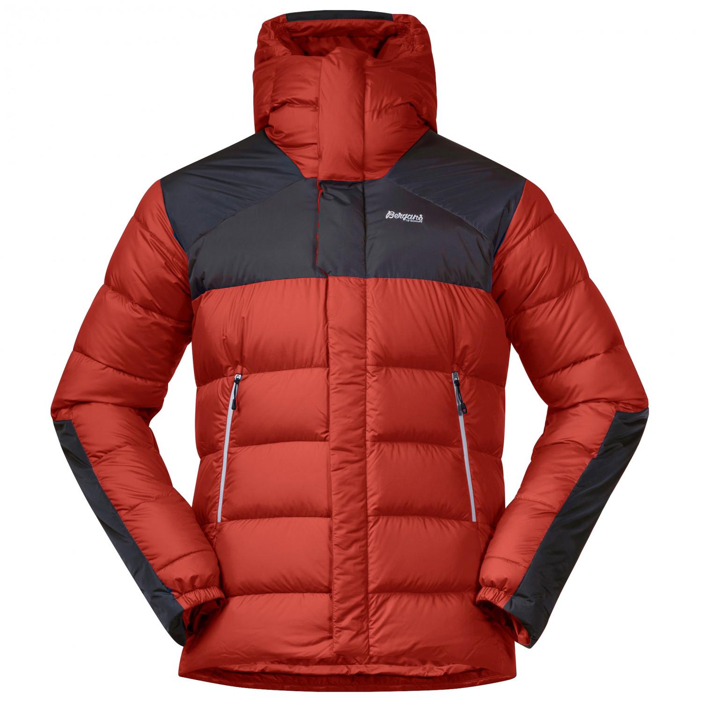 Bergans Rabot 365 Down Jacket Down jacket Solid Charcoal Black Silver Grey | S