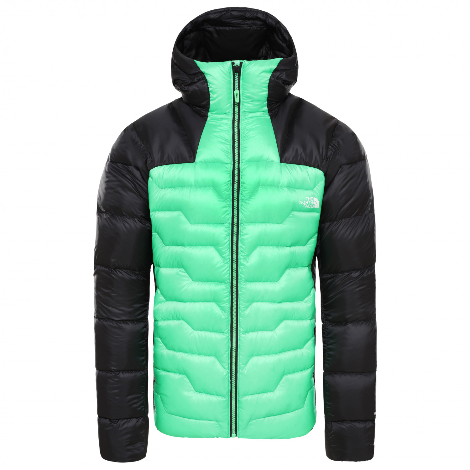 new concept d915a 1e773 The North Face - Impendor Down Hoodie - Daunenjacke - Weathered Black / TNF  Black | S