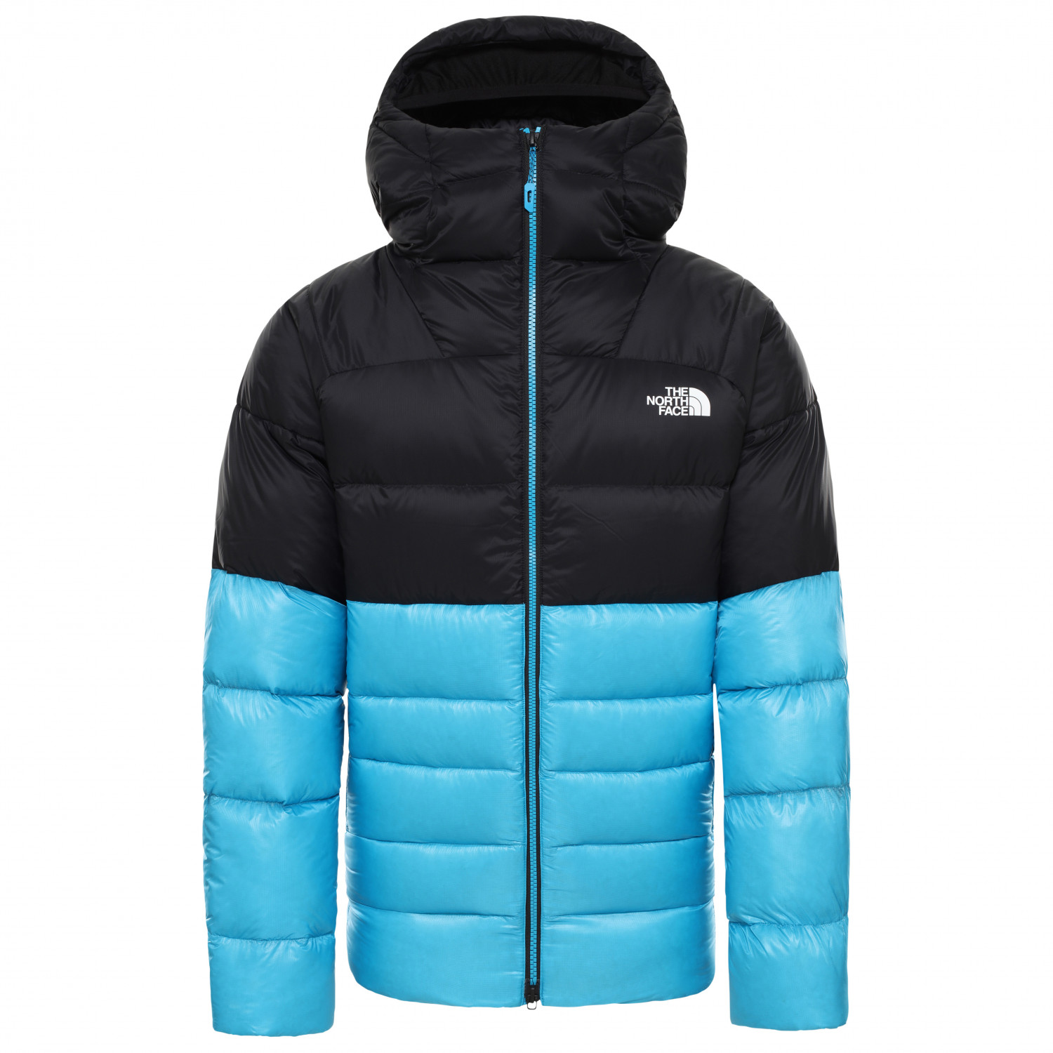 The North Face Impendor Pro Down Hoody Daunenjacke Acoustic Blue TNF Black | S
