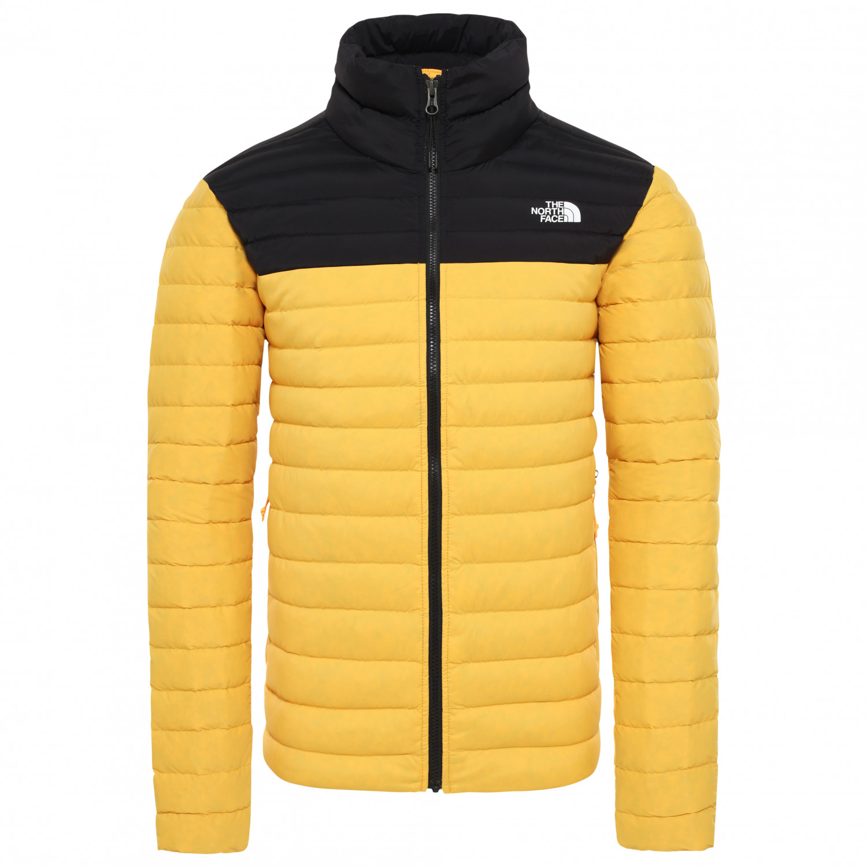 The North Face Stretch Down Jacket Daunenjacke TNF Yellow TNF Black | M