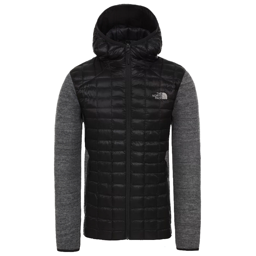 The North Face Veste Thermoball Hybrid Hoodie M homme Noir