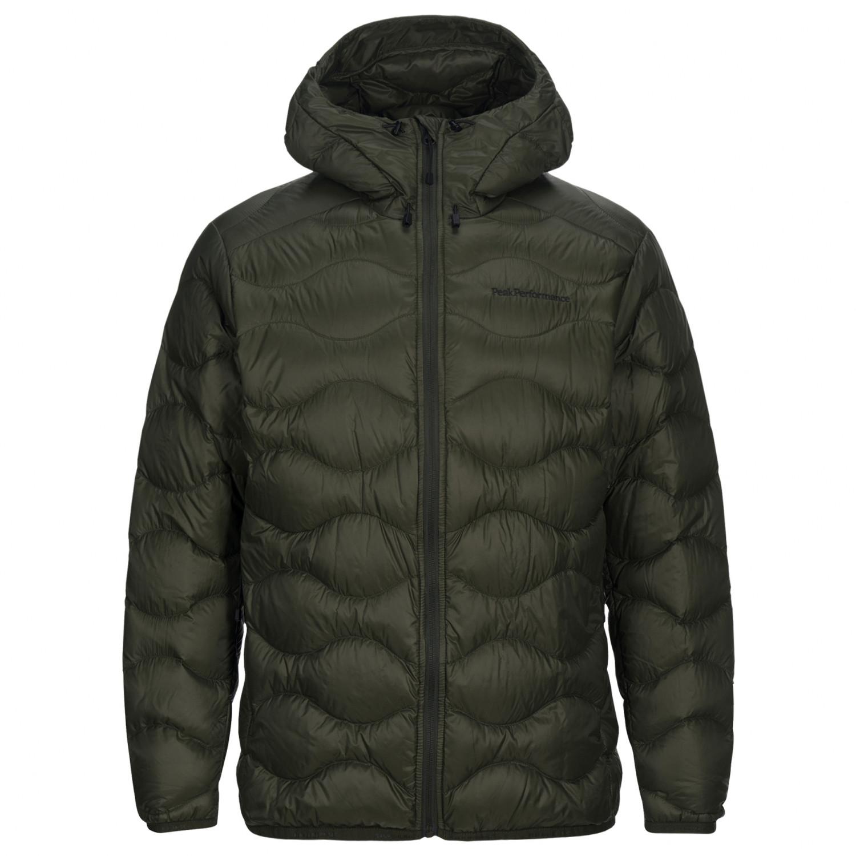 Peak Performance Helium Hood Jacket Down jacket Forest Night | XL