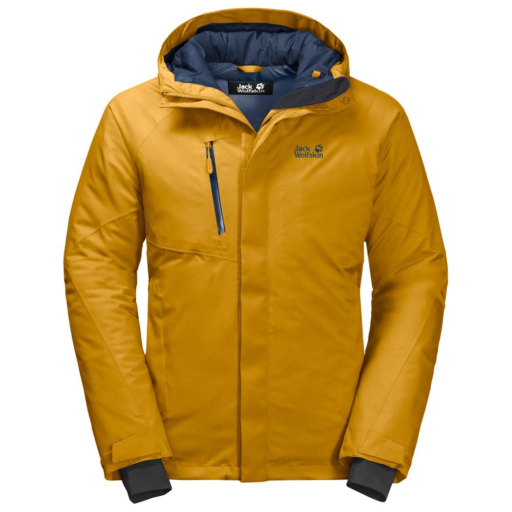 buy popular ca6c3 5a5d8 Jack Wolfskin - Troposphere Jacket - Winterjacke - Golden Yellow | S