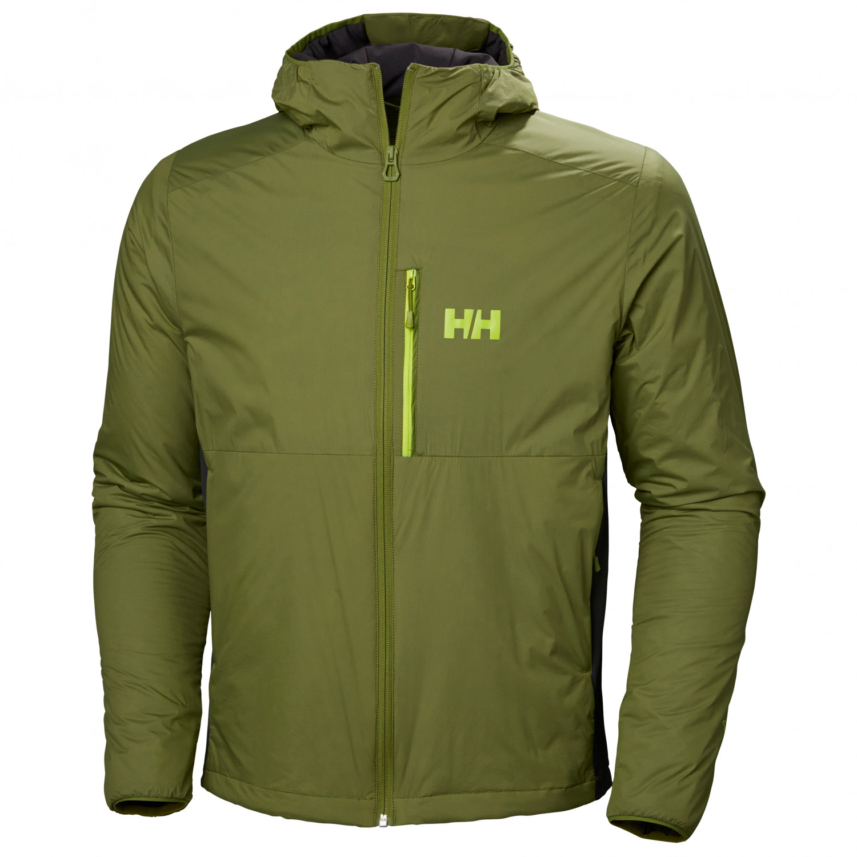 Helly Hansen Odin Stretch Hooded Light Insulator Syntetisk jakke Wood Green   S