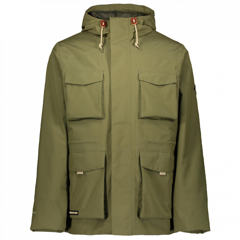 Winterjacke Teton GTX Field Jacket Powderhorn Military GreenS 34RAjL5