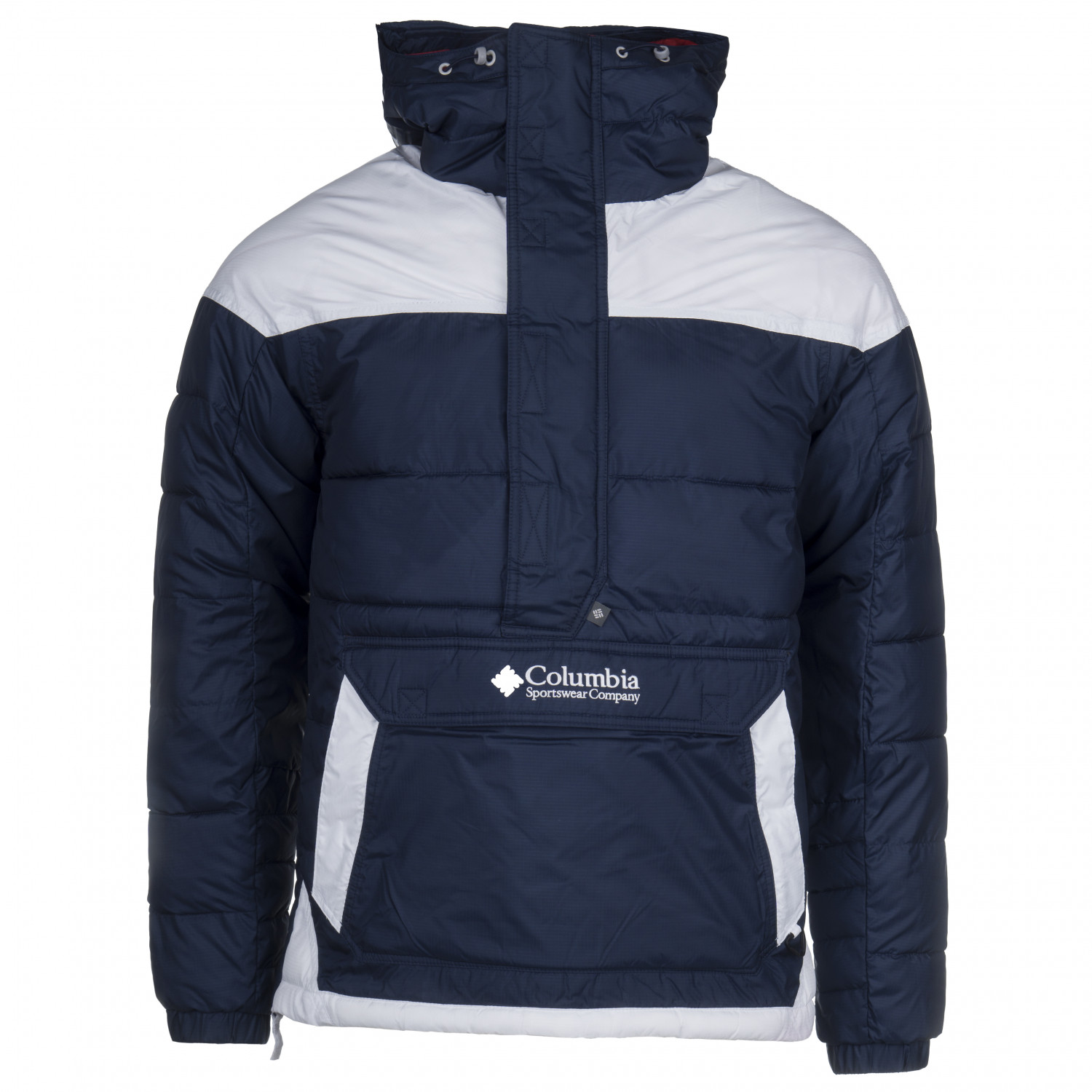 Columbia Columbia Lodge Pullover Jacket Winterjacke Collegiate Navy White Mountain Red | M