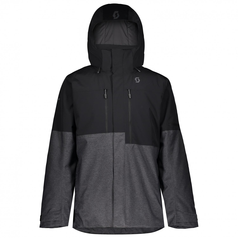 Scott Jacket Ultimate Dryo 10 Skijacke Black Dark Grey Melange   L