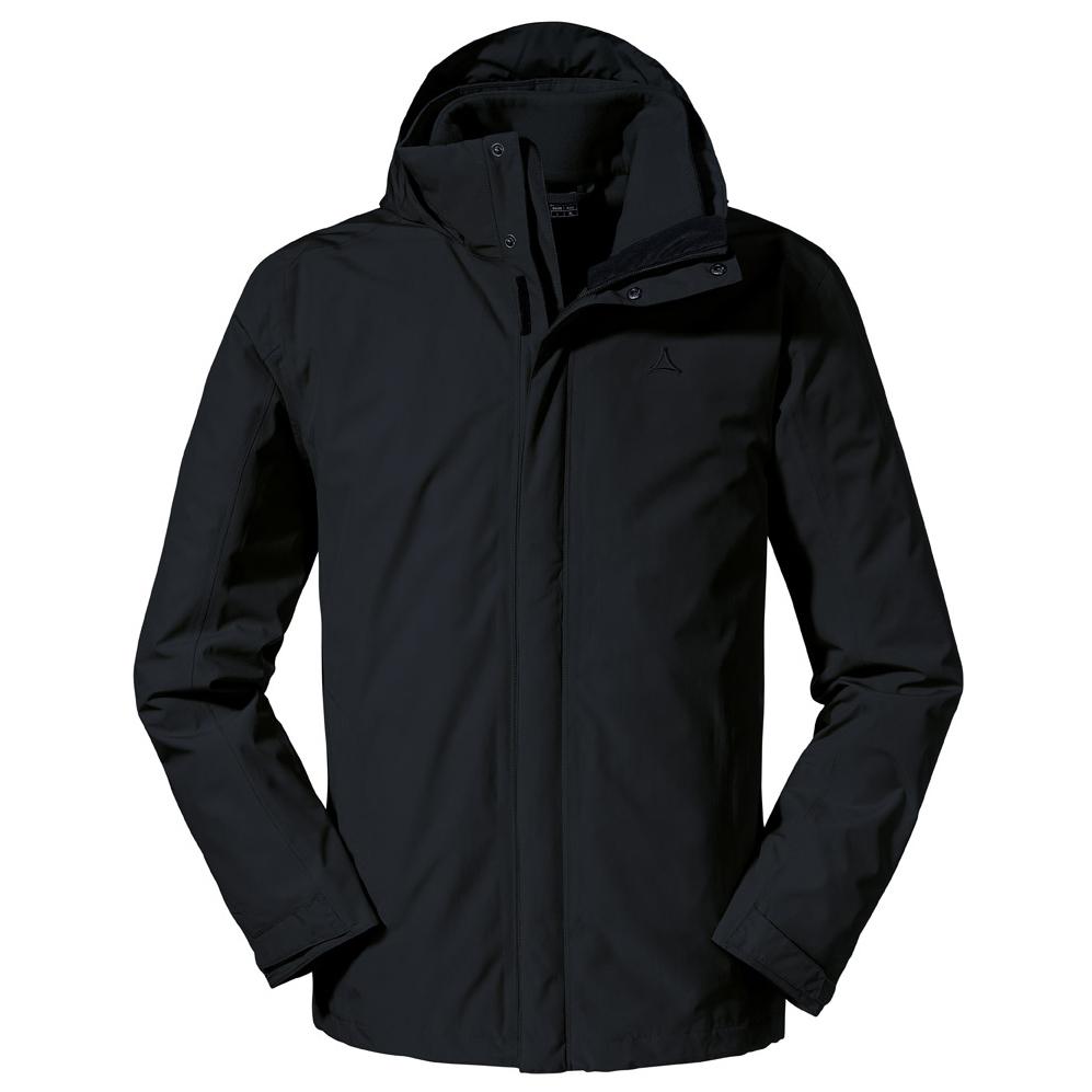 Schöffel 3in1 Jacket Turin 1 Doppeljacke Moonlit Ocean | 48 (EU)