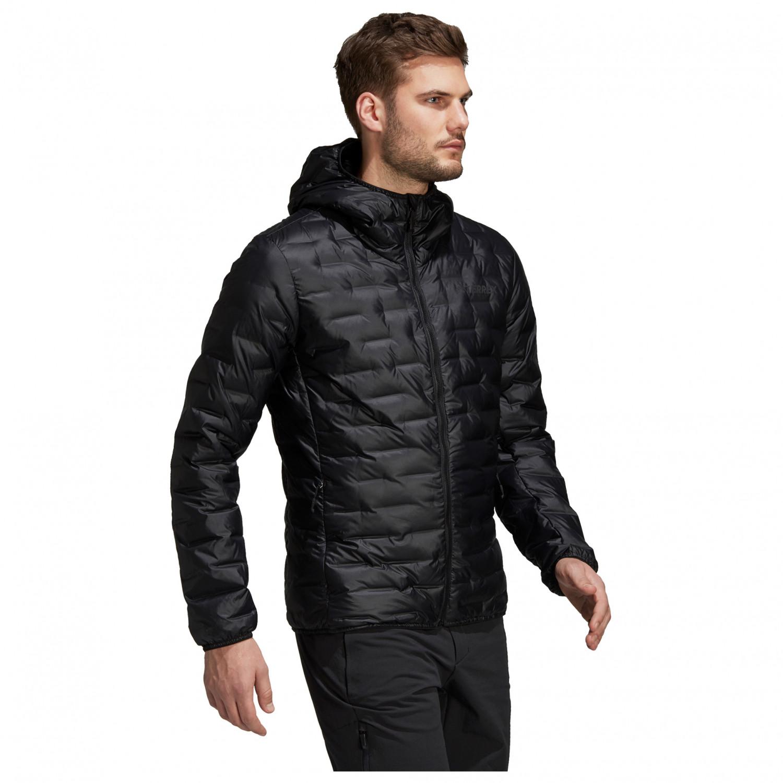 adidas Down Light Jacket Hooded Daunenjacke Black48EU eWH92EDIY