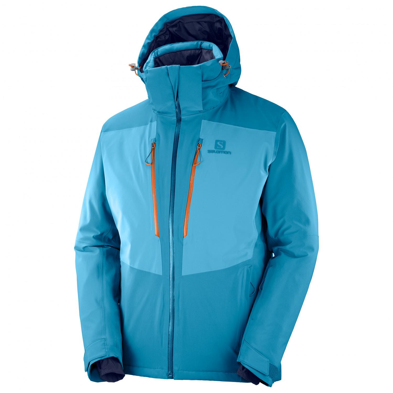 Salomon Icefrost Jacket Veste de ski Lyons Blue   S