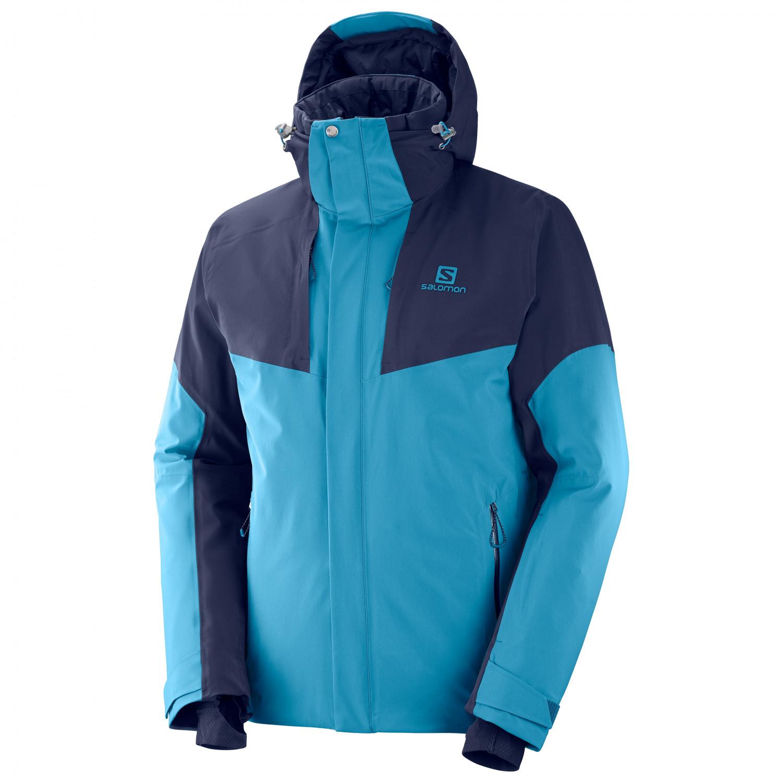 schoenen voor goedkoop 100% authentiek zoeken naar Salomon - Icerocket Jacket - Veste de ski - Lyons Blue   S