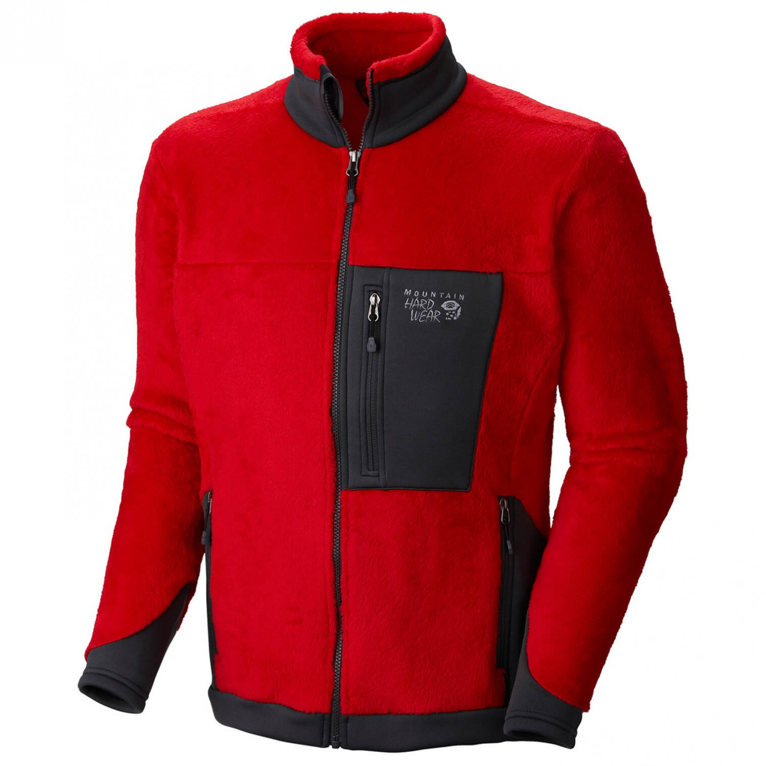 Mountain hardwear monkey man jacket red