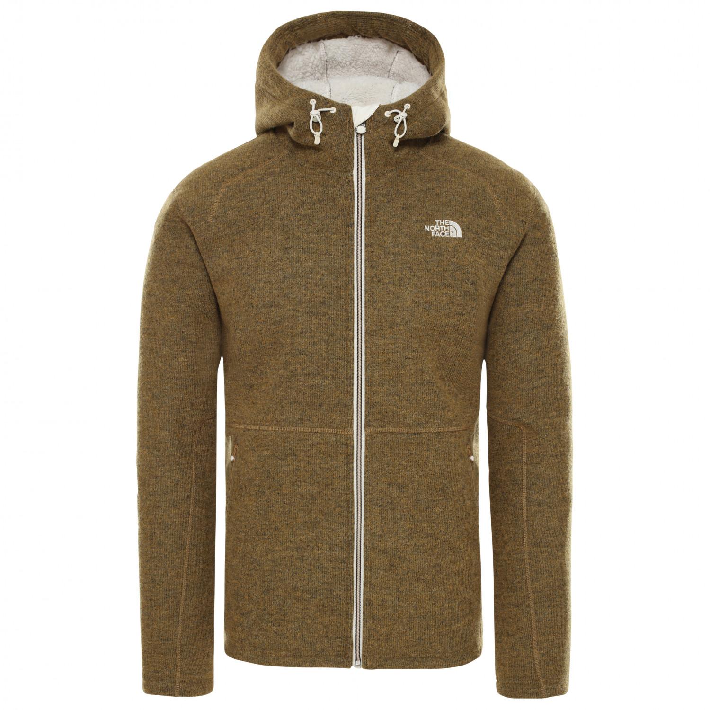 new product e2fe5 fa89e The North Face - Zermatt Full Zip Hoodie - Fleece jacket - British Khaki  Dark Heather | S