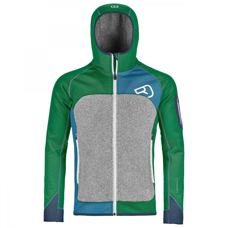 ortovox fleece plus mi hoody wool jacket men 39 s free uk delivery. Black Bedroom Furniture Sets. Home Design Ideas
